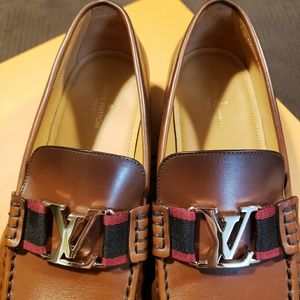 b83ec8dbcd2a Louis Vuitton Shoes - Louis Vuitton - Cognac Montaigne Loafer